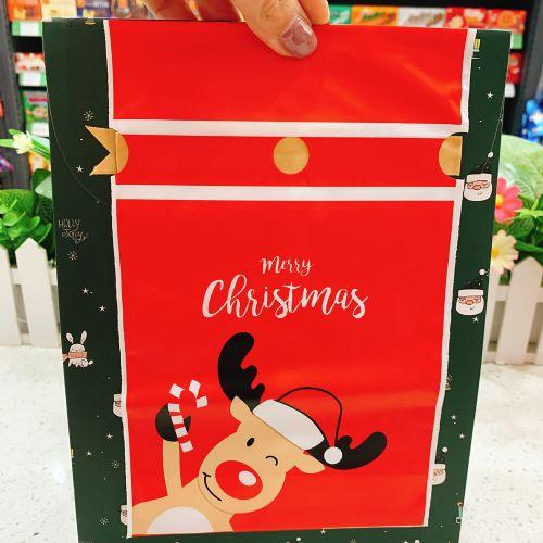 圣诞节包装袋抽绳袋拉绳袋