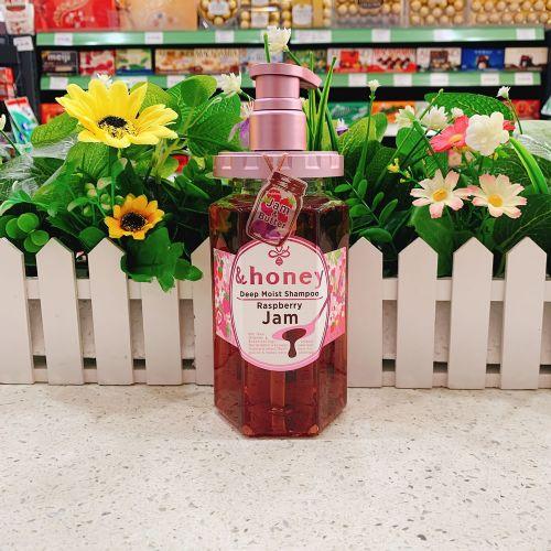 日本限定版&Honey无硅油保湿滋润防脱修复洗发水440ml(杂莓香味)
