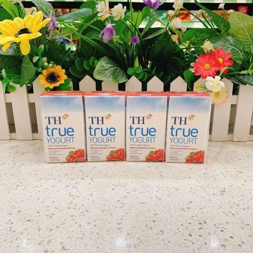 越南TH TRUE草莓酸奶110ml