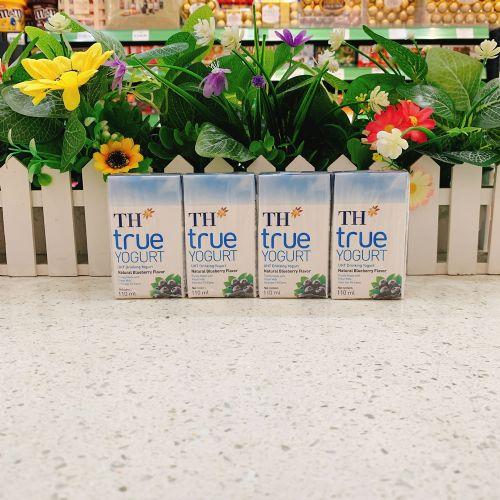 越南TH TRUE蓝莓酸奶110ml