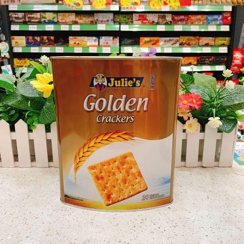 马来西亚 Julie's茱蒂丝金又香上苏打饼干552g