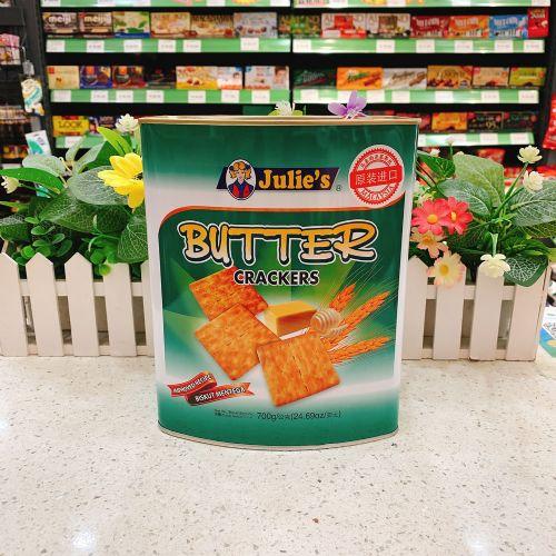 马来西亚 Julie's茱蒂丝奶油苏打饼干700g