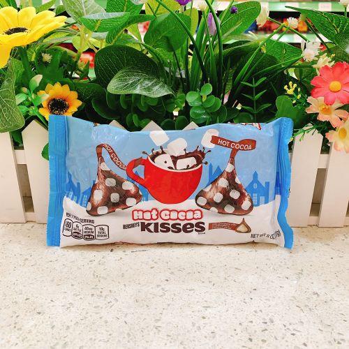 美国hersheys水滴型 好时棉花糖牛奶酱夹心牛奶巧克力228克