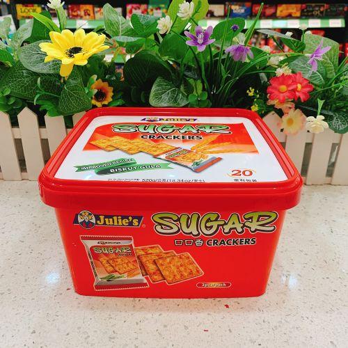 马来西亚茱蒂丝口口香饼干520g