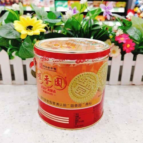 咀香园杏仁饼500g(罐装)