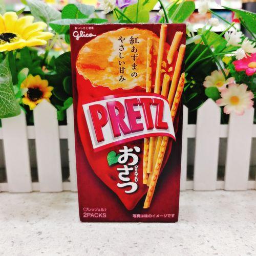日本固力果百利滋饼干(紫薯味)69g
