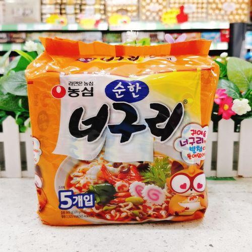 韩国农心乌冬面120g×5包