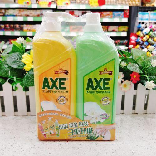 AXE斧头牌洗洁精柠檬味+茉莉套装1300g×2