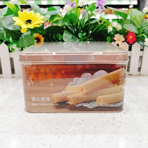 香港元朗荣华蛋白脆卷8件×4包