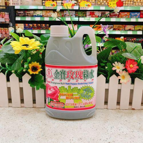 金宝玫瑰绿水全能清洁剂1L