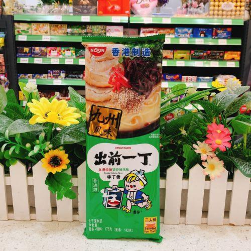 出前一丁棒丁面(九州浓汤猪骨汤味味)176g