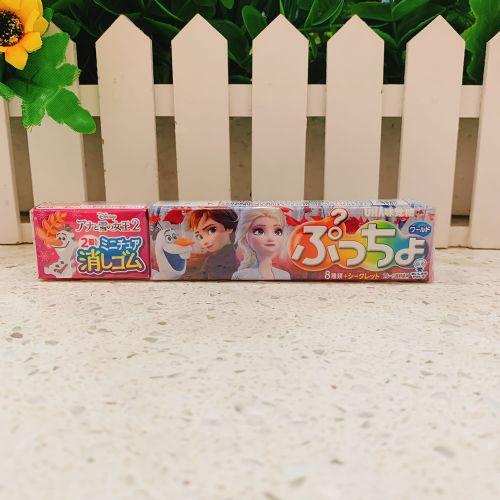 日本味觉魔雪奇缘擦胶莓梳打味粒粒软糖10粒(条装)