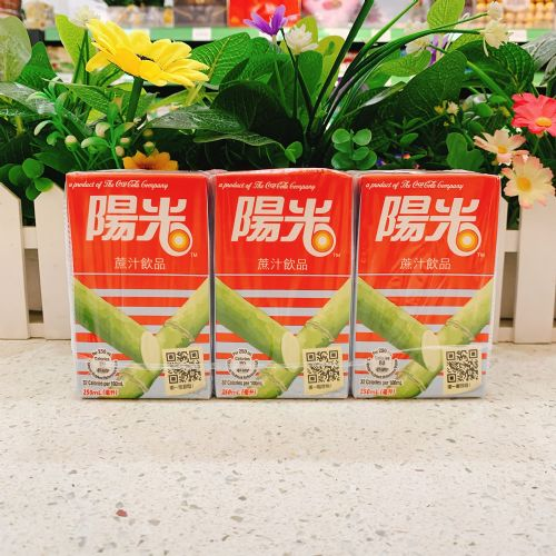 阳光甘蔗汁饮品250ml×6