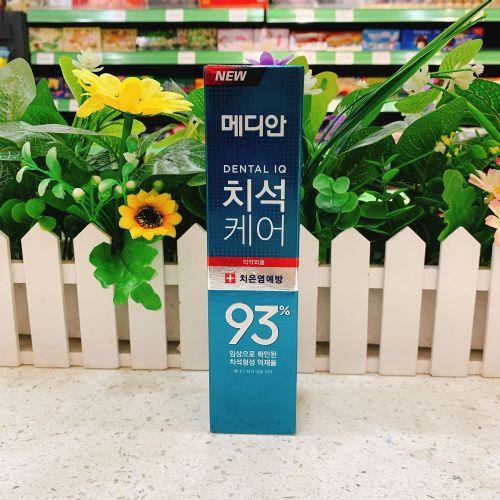 韩国爱茉莉93牙膏绿色抗菌健龈