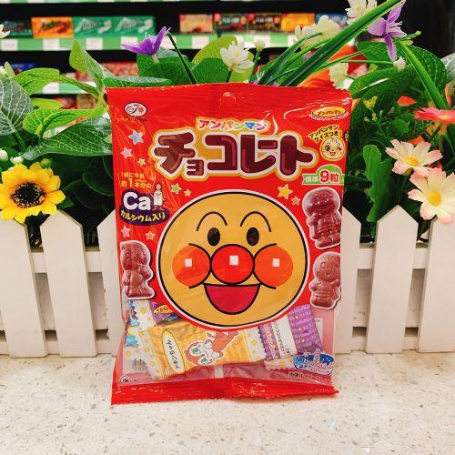 日本不二家面包超人造型巧克力34g(袋装)