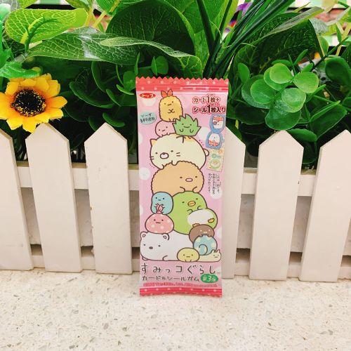 日本TOP角落生物卡片贴纸香口胶1枚(袋装)