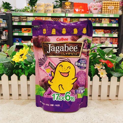 卡乐B薯条(紫薯味)袋装120g(20g×6包)