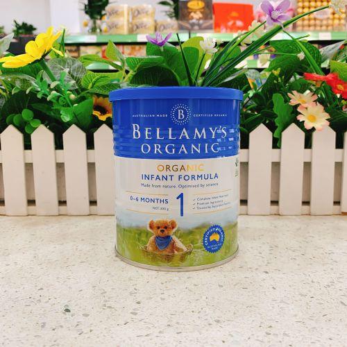澳洲Bellamys贝拉米1段有机婴儿牛奶粉300g(0-6个月)新包装
