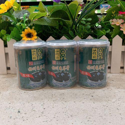 双钱牌梧州龟苓膏250g×3罐