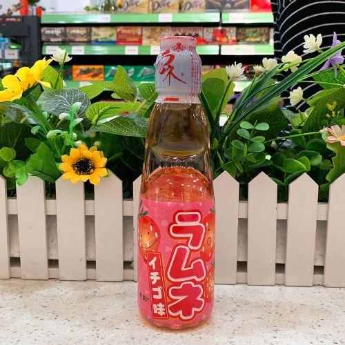 日本哈达牌波子汽水(草莓味)200ml