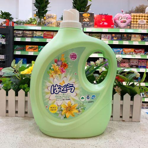 日本赛乐诗Scrrehs杀菌除臭洗衣液5008ml(绿色)X9