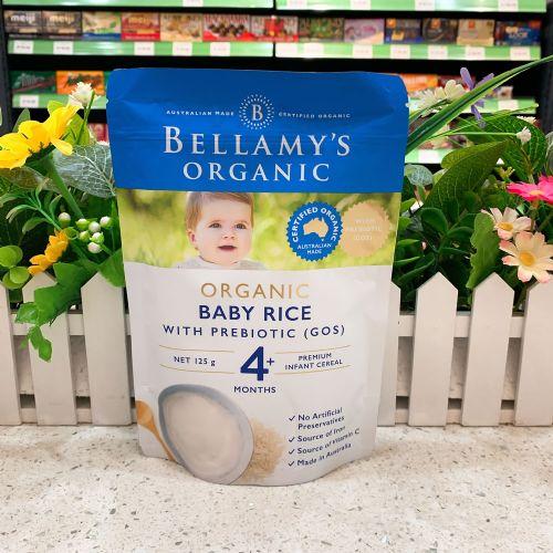 澳洲贝拉米有机高铁原味米粉米糊(4个月以上)125g