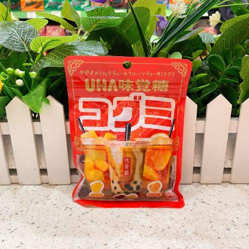 日本UHA悠哈味觉珍珠奶茶软糖85g