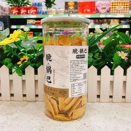 咱家有料脆锅巴热情烧烤味246g