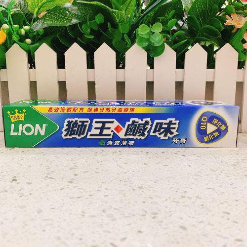 狮王咸味清凉薄荷牙膏160G