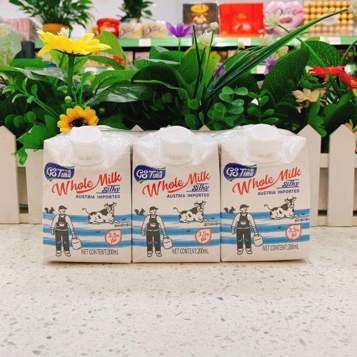 太慕全脂纯牛奶200ML×6