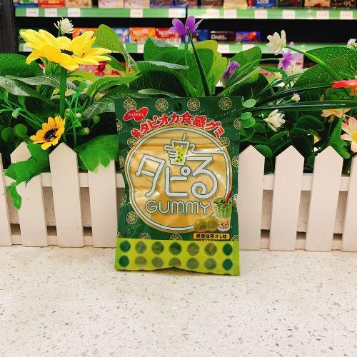 日本乐宝黑蜜珍珠抹茶奶味软糖70g(袋装)