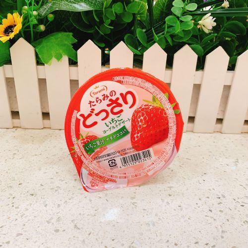 日本Tarami 草莓椰子乳酪果冻230g(杯装)