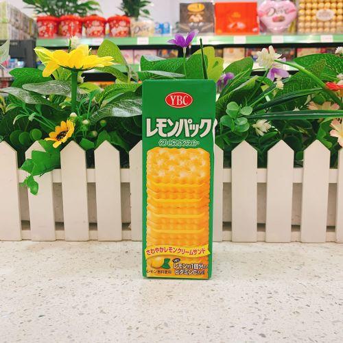 日本YBC 柠檬忌廉夹心饼9枚(盒装)