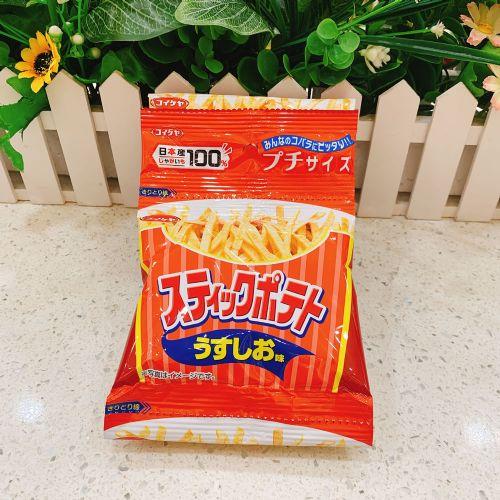 日本湖池屋薄盐味薯条52g(4连袋)