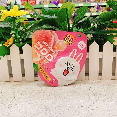 日本UHA悠哈味觉果汁软糖(水蜜桃味)40g