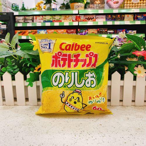 日本卡乐B盐味紫菜薯片66g(袋装)