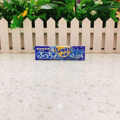 日本UHA味觉糖果肉条装软糖10粒(粒粒梳打汽水味)