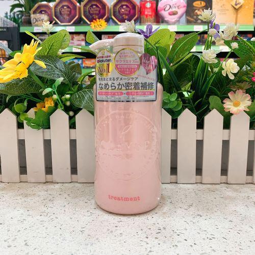 日本CLAYGE樱花温冷蓬松护发素500ml