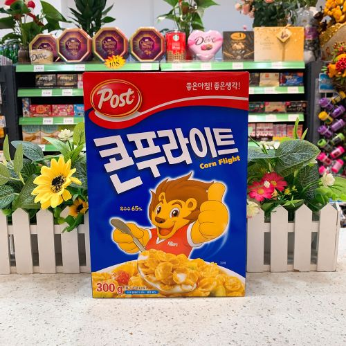 韩国post儿童营养玉米早餐麦片300g