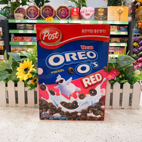 韩国奥利奥草莓麦片250g