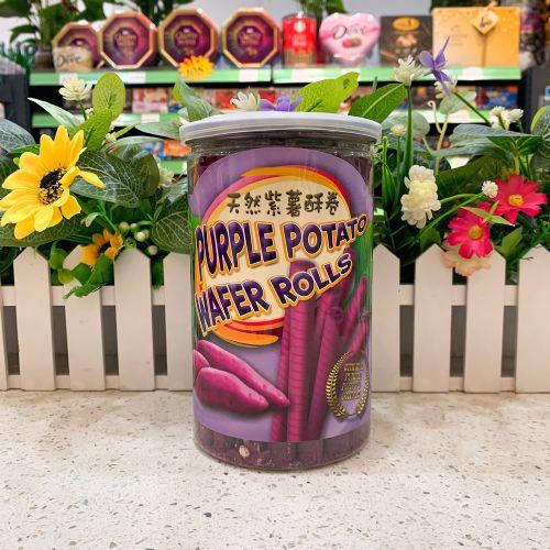 HARVEST天然紫薯酥卷220g
