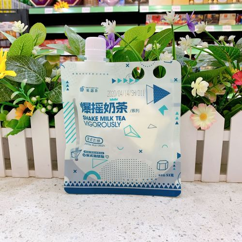 果遇茶爆摇奶茶固体饮料53g(四季春奶茶)