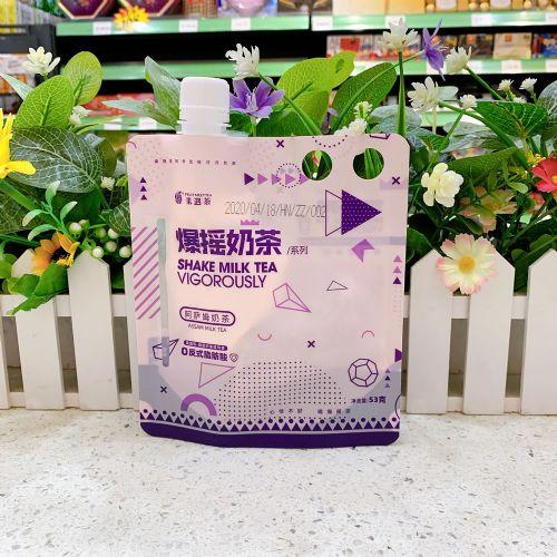 果遇茶爆摇奶茶固体饮料53g(锡兰奶茶)
