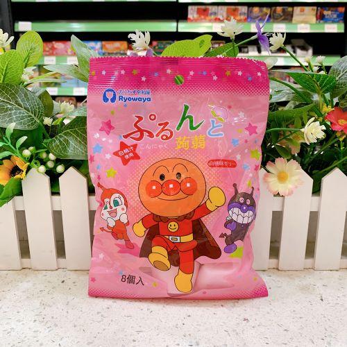 日本令和屋面包超人果冻(白桃味)192g
