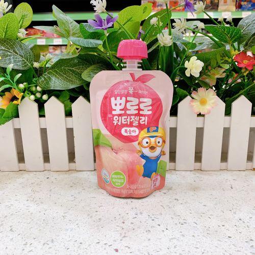 韩国啵乐乐水蜜桃味可吸果冻120ml