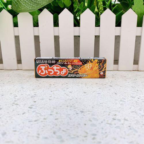 日本UHA味觉糖果肉条装软糖10粒(碳酸可乐味)