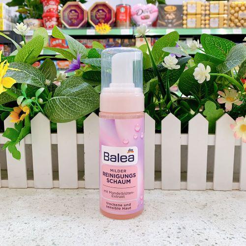 德国Balea芭乐雅温和保湿不刺激洁面泡沫洗面奶150ml(适合干性皮肤)