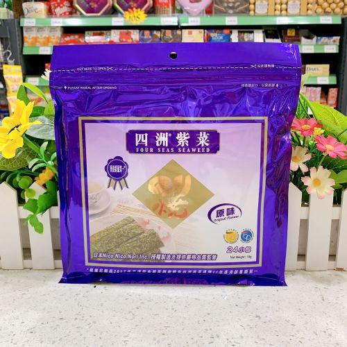 小包四洲紫菜(原味)18G×24