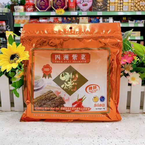 小包四洲紫菜(辣味)18G×24