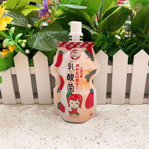 平野乳酸菌吸吸�ㄠ�(草莓味)80g